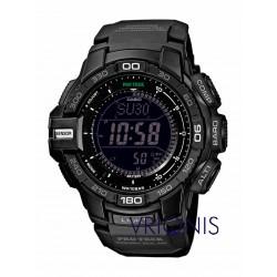 PRG-270-1AER Μαύρο Ρολόι Χειρός CASIO PROTREK