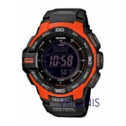 PRG-270-4ER Πορτοκαλί Ρολόι Χειρός CASIO PROTREK