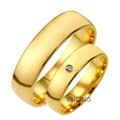 Χρυσή Βέρα 100250GA